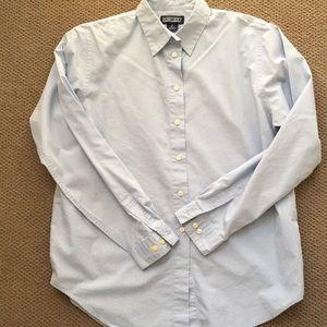 Lands' End light blue shirt